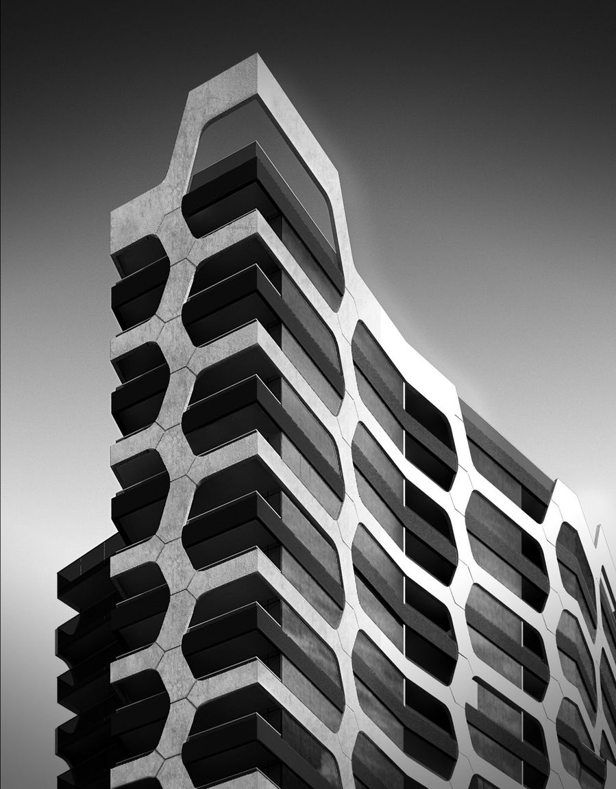 Still,Abstract Detail,Exterior,Residential,Tower,2010