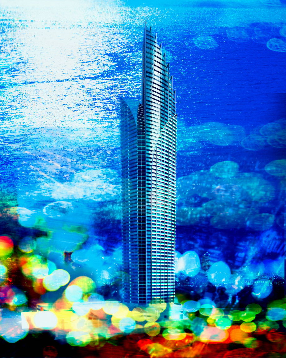 Still,Tower,Resorts,Abstract Detail,2001-2005